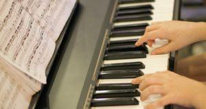 klavier noten spielen