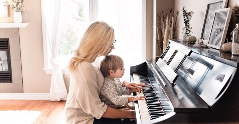 Klavier Akkorde Richtig Spielen