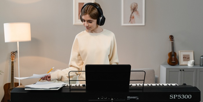 klavier lernen zuhause